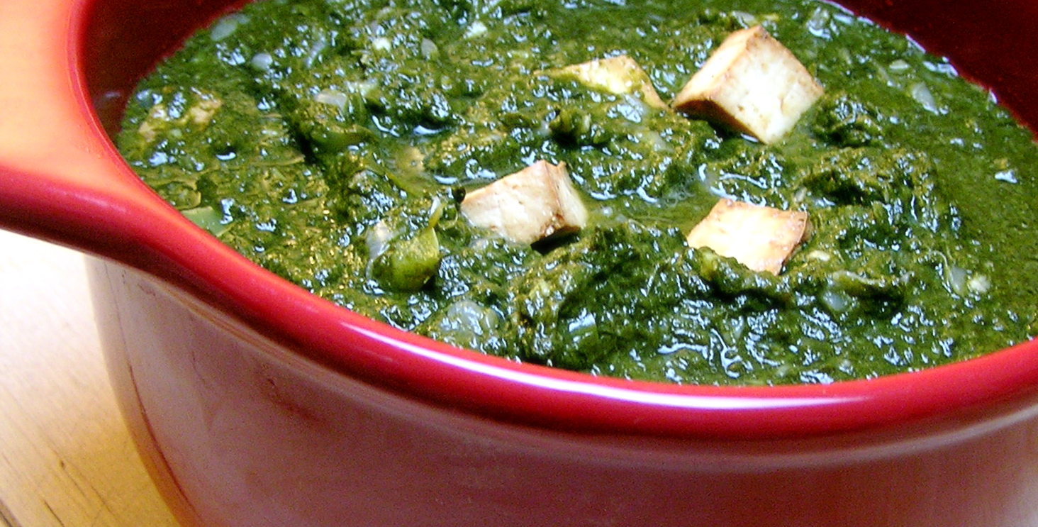 SAAG PANEER Greens with Cheese